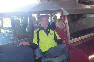 Pensioners Puff Puff - GRLC Group in Power Van